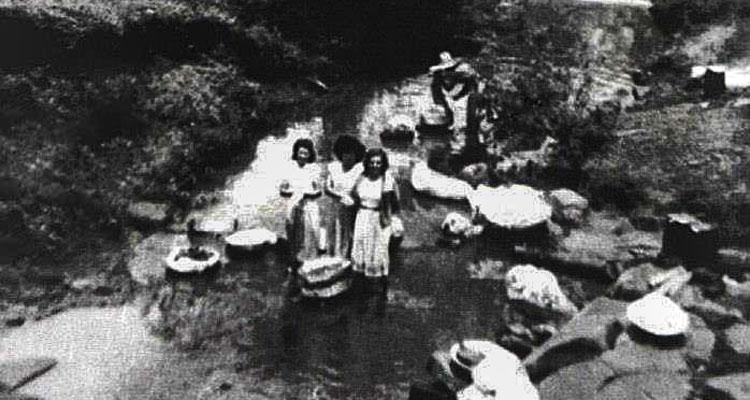 Ribeirão Cachoeirinha, onde as mulheres lavavam roupas