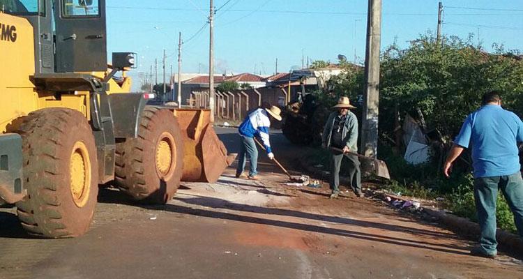 """Prefeitura reativa Pelotão Ambiental e promove intervenção na Avenida """"Drª Cláudia Maria Gandolpho Rodrigues de Souza"""""""