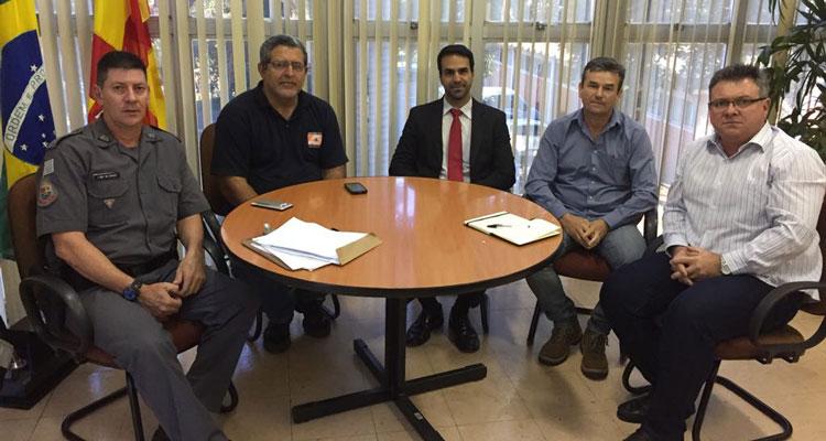 Fábio Zuza quer ampliar integração entre os órgãos de segurança pública