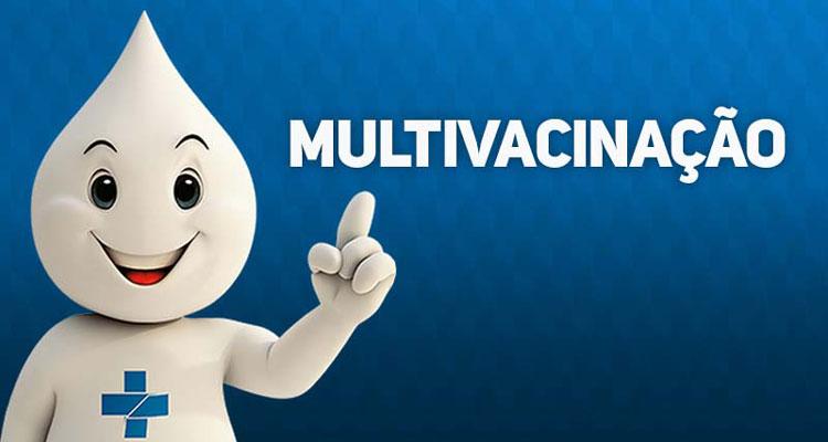 Campanha de multivacinação vai até o dia 22