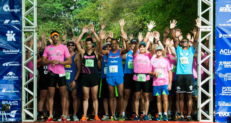Corrida Solidária reúne 400 pessoas