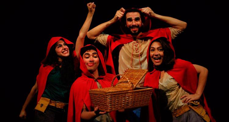 "Teatro Virgínio Ometto recebe ""Chapeuzinho Vermelho"" nesta sexta e sábado"