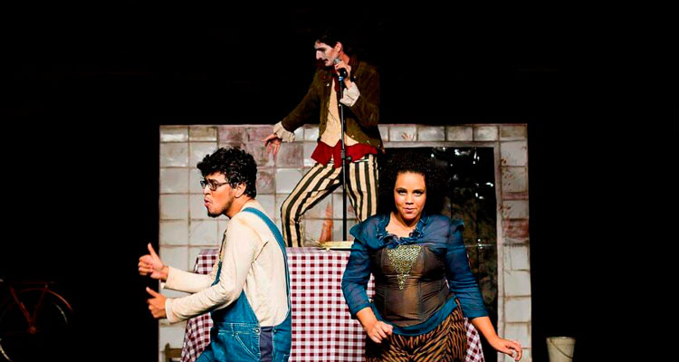 """Teatro Virgínio Ometto recebe peça """"Um artista da fome"""", de Daniel Martins"""