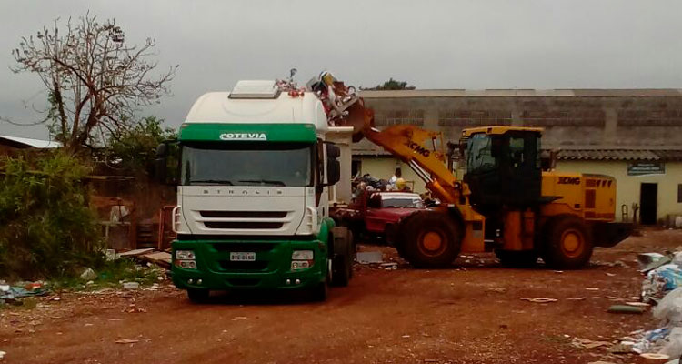 Prefeitura limpa área do antigo Reciclar; projeto vai funcionar junto ao novo ecoponto