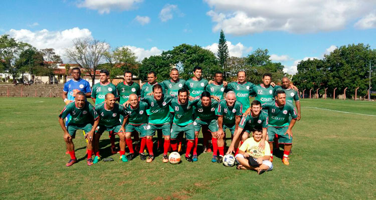 Equipe de veteranos da CME disputa a final em Limeira