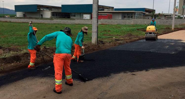 Operação tapa-buracos revitaliza ruas