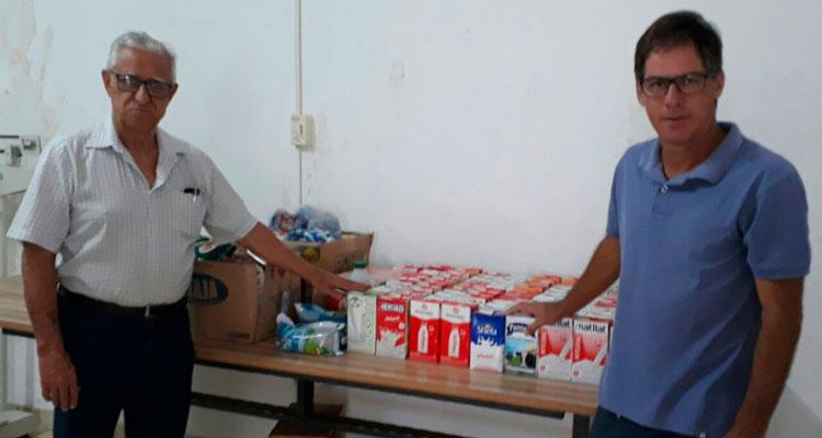 CME destina 120 litros de leite ao Fundo Social