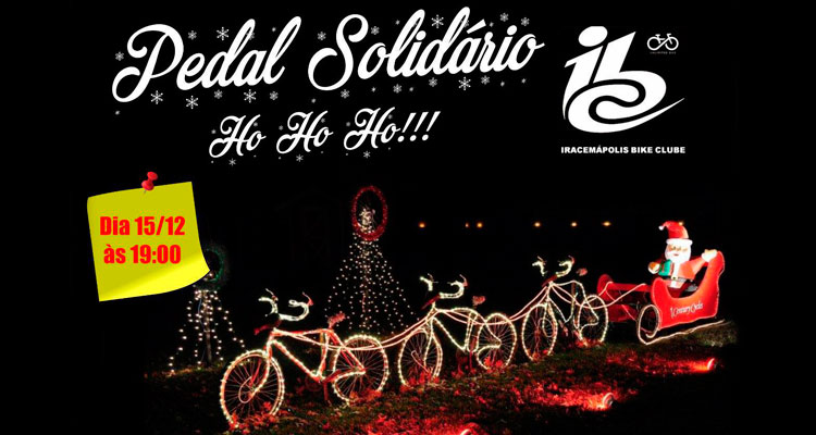 """""""Pedal solidário"""" na próxima sexta-feira"""