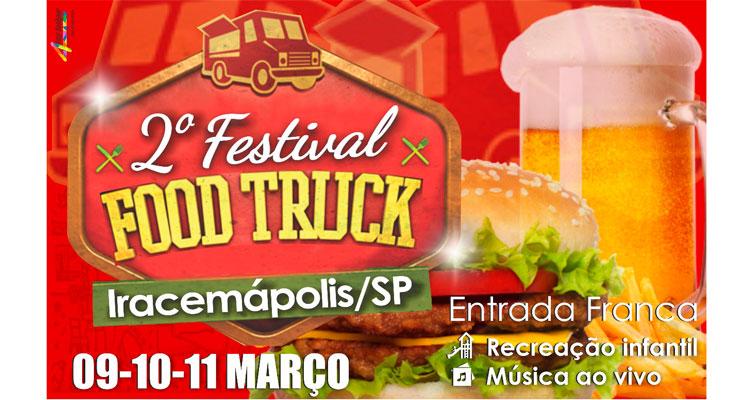 2º Festival de Food Truck na próxima semana