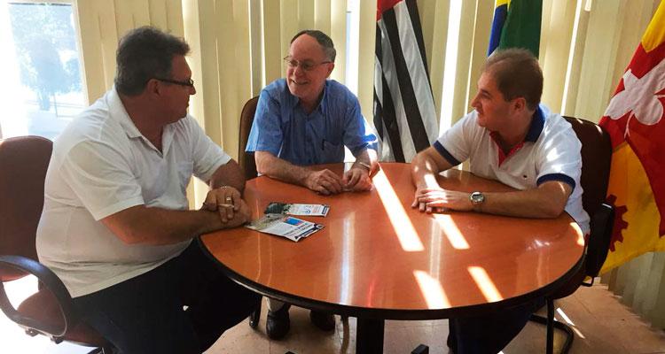 Fábio Zuza se reúne com prefeito de Piracicaba, Barjas Negri