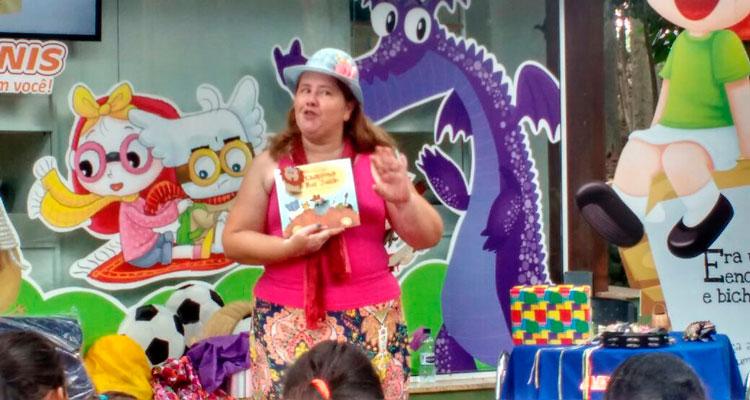 Evento no Centro de Lazer traz contação de histórias para crianças