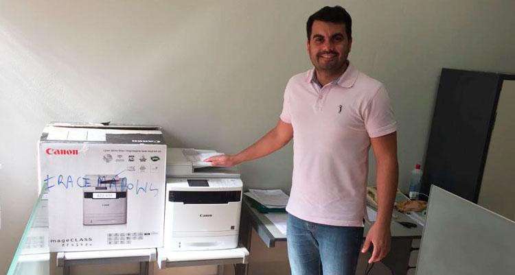 PAT de Iracemápolis é premiado com impressora