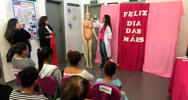 "USF ""Maria Neves Alexandrino"" promove palestra sobre saúde da mulher"