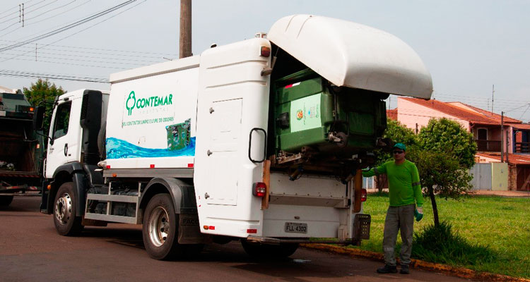 Coleta de lixo não altera no feriado