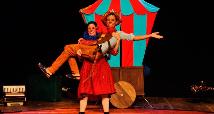 """Sábado tem """"O circo de Lampezão e Maria Botina"""" no Teatro"""
