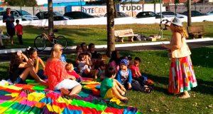 Evento trouxe recreação infantil no Centro de Lazer