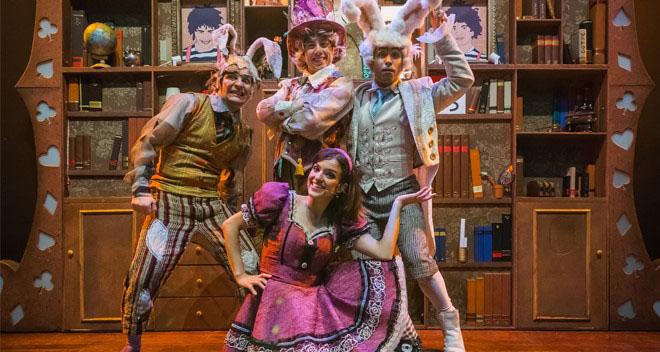 """Sábado tem teatro: """"Alice, o Musical"""""""