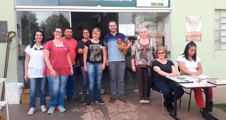 Prefeitura vacina 3 mil animais em campanha contra a raiva