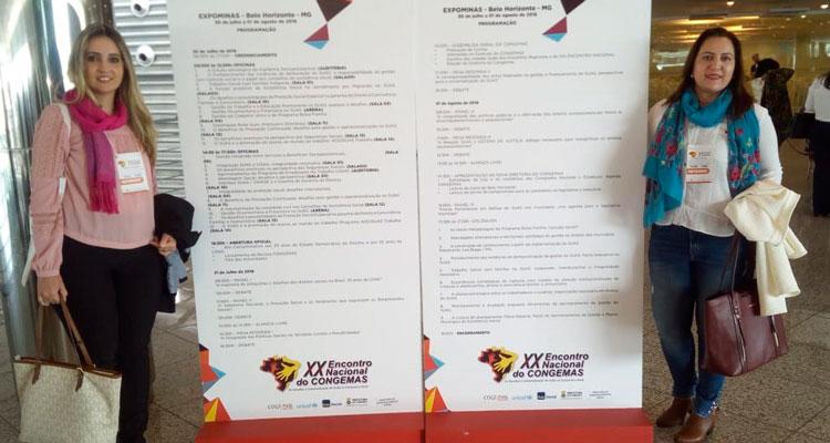 Iracemápolis participa de encontro nacional sobre assistência social
