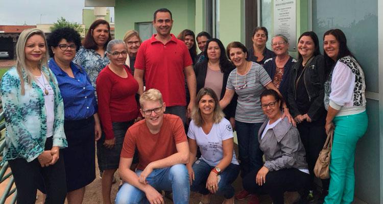 CAPS de Iracemápolis visita a Expoflora