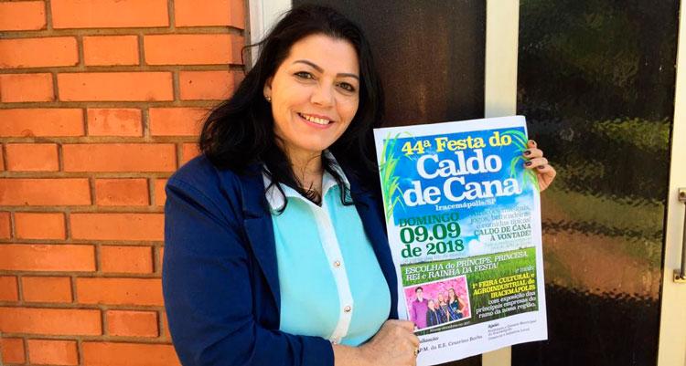 Prefeitura terá stand na Festa do Caldo de Cana