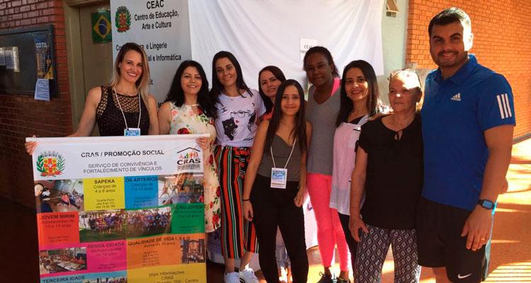 Prefeitura marca presença na Festa do Caldo de Cana