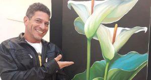 Cândido dá aulas gratuitas de assemblagem e pintura