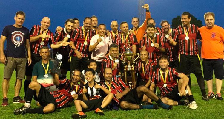 Aquárius é campeão da Copa de Futebol Veterano