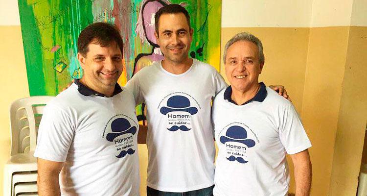 Saúde realiza campanha para diagnóstico do câncer de próstata