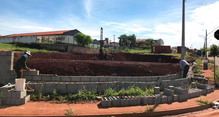 Começa a construção da sede do Corpo de Bombeiros