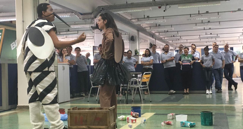 Alunos da Cultura montam peça sobre prevenção à dengue