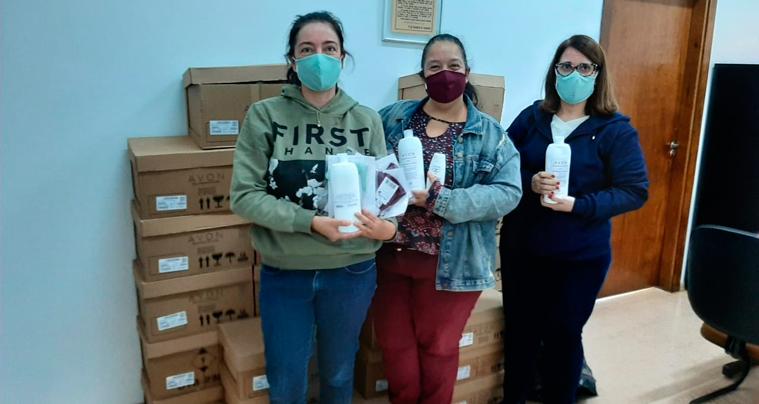 Usina Iracema doa álcool e máscaras para a Prefeitura