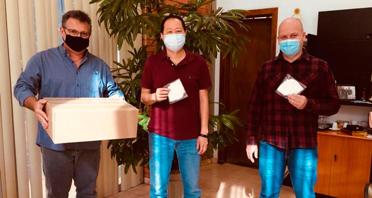 Município recebe 250 máscaras de proteção