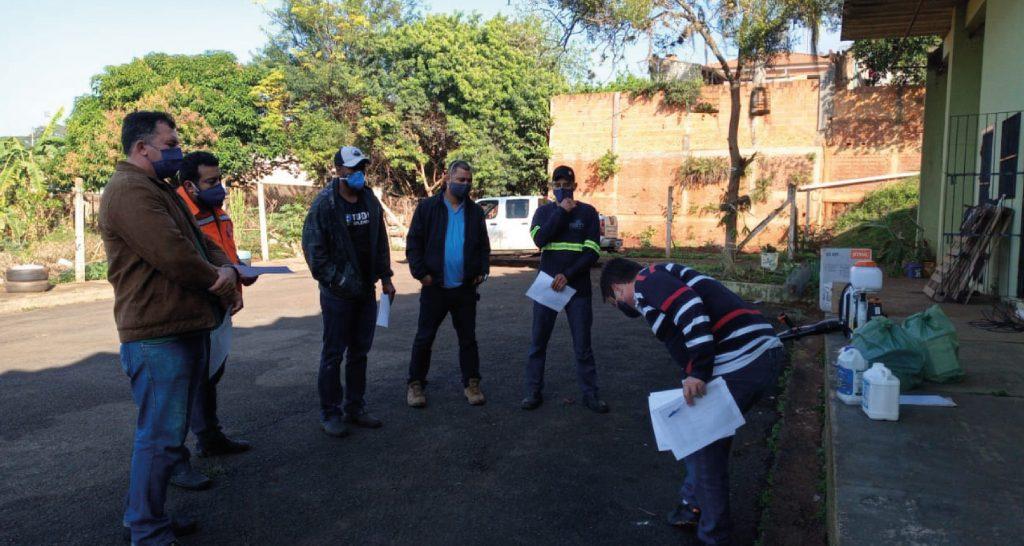 Pulverizador reforça ações de combate à dengue e covid-19