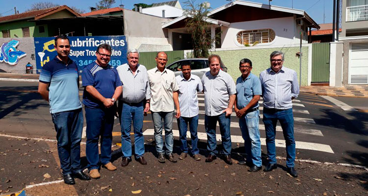 Deputado José Mentor visita Iracemápolis