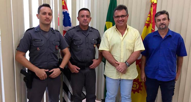 1º sargento Gaioto assume comando da PM em Iracemápolis