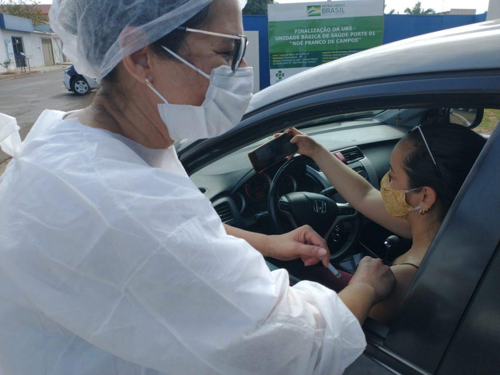 Dia D: Sábado terá vacinação contra covid-19 para 58 e 59 anos