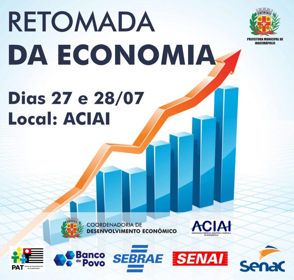 Retomada da Economia é tema de encontro promovido pela Prefeitura e ACIAI